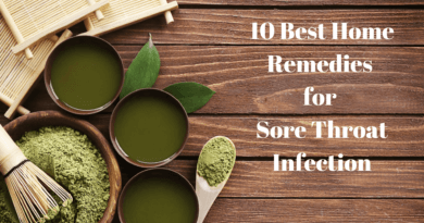 10 Best Home Remedies for Sore Throat Infection