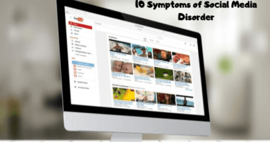 10 Symptoms of Social Media Disorder