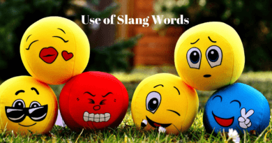 Use of slangs and its impact on society