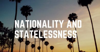 Nationality and Statelessness Problems on the Rise