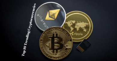 Top 10 Trending Cryptocurrencies