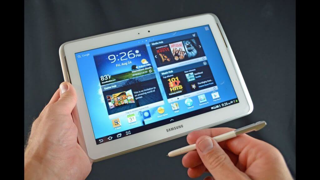 tablet for taking note